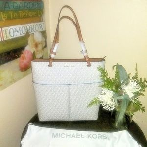 Michael Kors Bedford Large North South Tote NWT